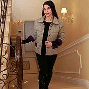 Одежда handmade. Livemaster - original item Chanel jacket on the quilted alphaluxe. Handmade.