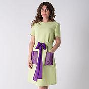 Одежда ручной работы. Ярмарка Мастеров - ручная работа Платье П-40. Handmade.