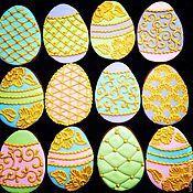 Сувениры и подарки ручной работы. Ярмарка Мастеров - ручная работа Пасхальные яйца Фаберже (набор от 12 пряников). Handmade.