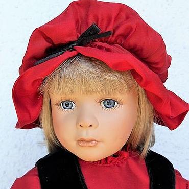 Куклы и игрушки ручной работы. Ярмарка Мастеров - ручная работа Коллекционная куколка По дороге к бабушке от Грёссле-Шмидт. Handmade.