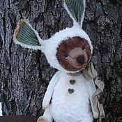 Куклы и игрушки ручной работы. Ярмарка Мастеров - ручная работа Мишка в костюме зайки. Handmade.