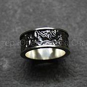 Фен-шуй и эзотерика handmade. Livemaster - original item `Ring of Druid` sterling silver 925. Handmade.