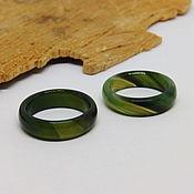 Украшения handmade. Livemaster - original item 18 green agate ring (Mal 18). Handmade.