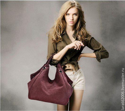 женская сумка из натурального нубука,  велюра, натуральной замши или кожи,женская сумка из кожи, заказать сумку,купить сумку женскую, сумка мягкой формы,сумка мешок, сумка повседневная ручной работы