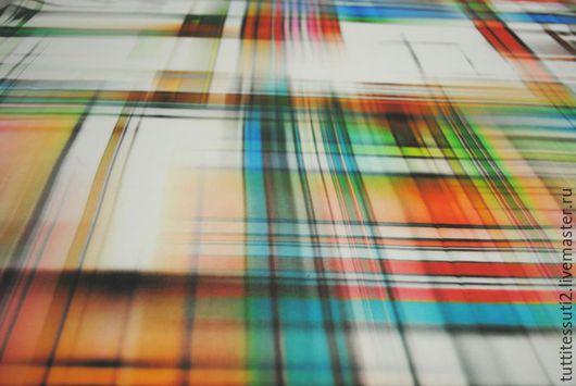 Шитье ручной работы. Ярмарка Мастеров - ручная работа. Купить Хлопковая ткань 02-002-0085. Handmade. Разноцветный