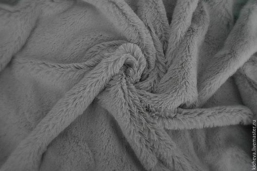 Куклы и игрушки ручной работы. Ярмарка Мастеров - ручная работа. Купить Плюш длинноворсный. Серый.. Handmade. Серый, материалы для творчества