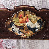 Для дома и интерьера handmade. Livemaster - original item Shelf for kitchen country