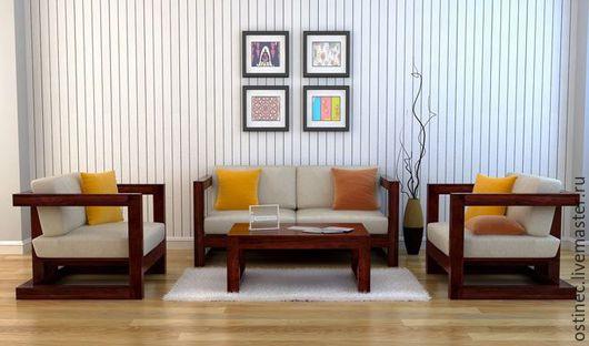 Мебель ручной работы. Ярмарка Мастеров - ручная работа. Купить Комплект мебели Марика. Handmade. Садовая мебель