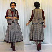 """Одежда ручной работы. Ярмарка Мастеров - ручная работа Костюм """"Lady in gray"""". Handmade."""