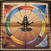Фен-шуй и эзотерика handmade. Livemaster - original item Chakra tablecloth set to work with the pendulum Pendulum + Opal. Handmade.