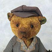 Мишки Тедди ручной работы. Ярмарка Мастеров - ручная работа Классический мишка-тедди в винтажном стиле.. Handmade.