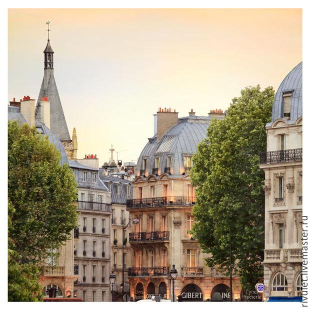 Париж фото картина, вечерний городской пейзаж, Fine art photographs, Moscow,  Фото №1