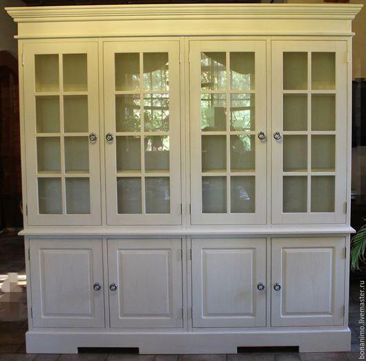 Мебель ручной работы. Ярмарка Мастеров - ручная работа. Купить Шкаф книжный. Handmade. Белый, мебель в английском стиле