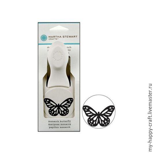 Открытки и скрапбукинг ручной работы. Ярмарка Мастеров - ручная работа. Купить Дырокол Бабочка Монарх - Martha Stewart Monarch Butterfly. Handmade.