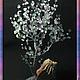 """Деревья ручной работы. Ярмарка Мастеров - ручная работа. Купить ,,Средь вод хрустальных"""". Handmade. Разноцветный, дерево для украшений"""