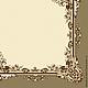 Декупаж и роспись ручной работы. Ярмарка Мастеров - ручная работа. Купить Ажурная рамка (SLOG026901) - салфетка для декупажа. Handmade. Разноцветный