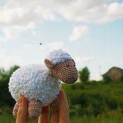 Куклы и игрушки ручной работы. Ярмарка Мастеров - ручная работа Овечка милашка. Handmade.