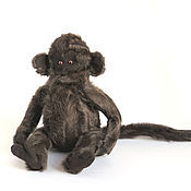 Куклы и игрушки ручной работы. Ярмарка Мастеров - ручная работа Игрушка из натурального меха. Обезьяна. Handmade.