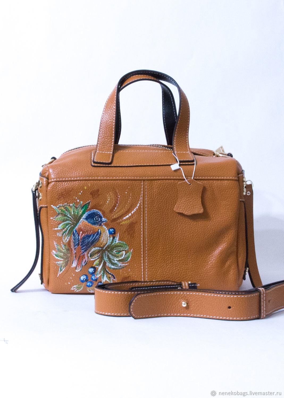 1a3968be7012 Женские сумки ручной работы. Ярмарка Мастеров - ручная работа. Купить Сумка  кожаная коричневая на ...
