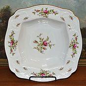 Винтаж handmade. Livemaster - original item Deep salad bowl 24 cm Rosenthal Rosenthal SANSSOUCI, Sansoussi. Handmade.