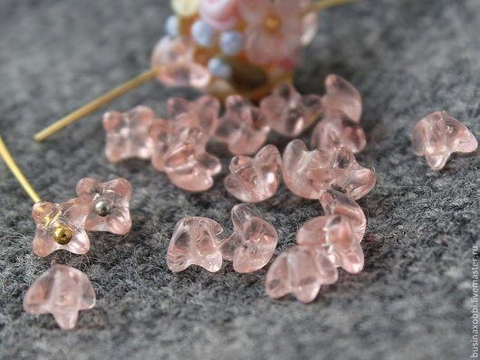 Чешские бусины шапочка для цветочков, размер 5 мм х 5 мм. Бусины имеют вертикальное отверстие около 1 мм Чешские бусины  из стекла. Эти прессованные стеклянные бусины прекрасно подходят для любых ювелирных решений