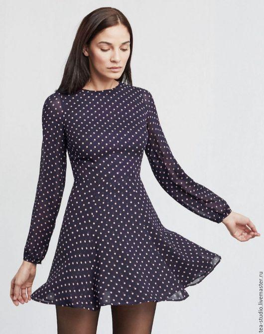 Платья ручной работы. Ярмарка Мастеров - ручная работа. Купить Платье    модель 81631. Handmade. Бордовый, однотонный, платье