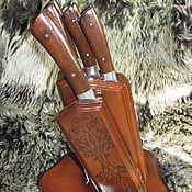handmade. Livemaster - original item Kitchen knife: A set of kitchen knives handmade. Handmade.