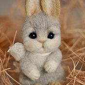 Куклы и игрушки handmade. Livemaster - original item Bunny felted toy. Handmade.
