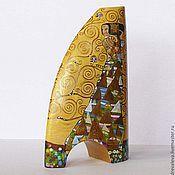 Для дома и интерьера handmade. Livemaster - original item In explanation of Klimt. Waiting. Hugs. Handmade.