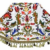 Одежда ручной работы. Ярмарка Мастеров - ручная работа Узбекский вышитый шелком национальный джакет пинджак A10104. Handmade.