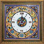 Для дома и интерьера ручной работы. Ярмарка Мастеров - ручная работа часы декоративные,керамические,квадратные. Handmade.