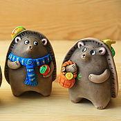 Музыкальные инструменты handmade. Livemaster - original item Whistles: hedgehogs. Handmade.