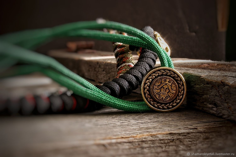 Neptune bronze bead, paracord bead, Marian, Knives, Volgograd,  Фото №1