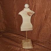 Материалы для творчества ручной работы. Ярмарка Мастеров - ручная работа Манекен для кукольной одежды. Handmade.