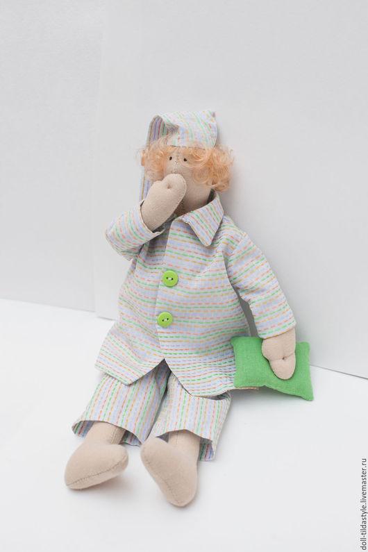 """Куклы Тильды ручной работы. Ярмарка Мастеров - ручная работа. Купить Кукла"""" Сплюшка-Ивашка"""",ручная работа сделанная с любовью.. Handmade."""