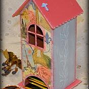 """Для дома и интерьера ручной работы. Ярмарка Мастеров - ручная работа Чайный домик """"Paris"""". Handmade."""