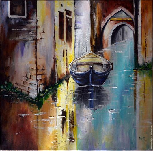 Город ручной работы. Ярмарка Мастеров - ручная работа. Купить Венеция. Handmade. Венеция, покой, мастихин, подарок на день рождения