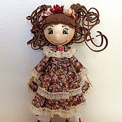 Куклы и игрушки ручной работы. Ярмарка Мастеров - ручная работа Кукла Арина. Handmade.