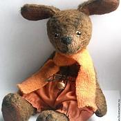 Куклы и игрушки ручной работы. Ярмарка Мастеров - ручная работа Авторская собака - тедди Апельсинчик друг мишек - тедди. Handmade.