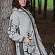 Верхняя одежда ручной работы. Заказать Пальто вязаное 14WJ13. Мастерская 'WOOL-ART'. Ярмарка Мастеров. Вязаное пальто