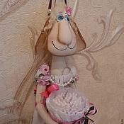 """Для дома и интерьера ручной работы. Ярмарка Мастеров - ручная работа Интерьерная игрушка """"Овечка - хозяюшка"""". Handmade."""