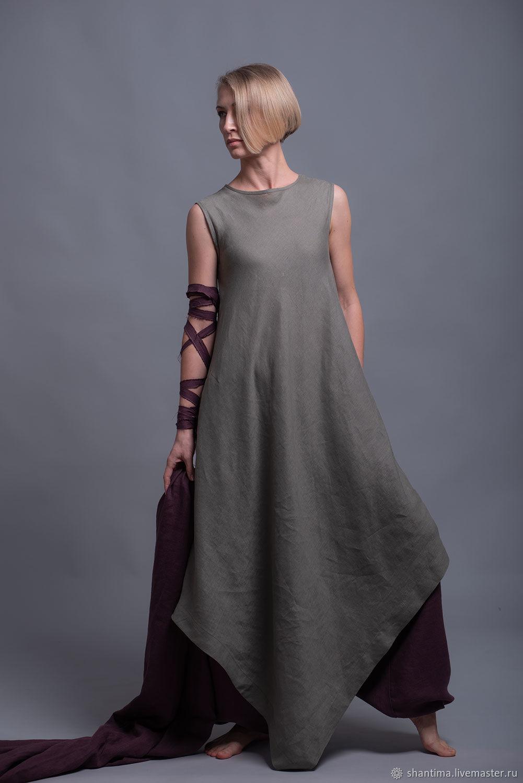 Платье туника из тонкого льна YUCCA - 8 расцветок, Платья, Бээр-Шева,  Фото №1