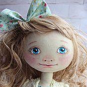 Куклы и игрушки ручной работы. Ярмарка Мастеров - ручная работа Тестильная кукла Маша. Handmade.