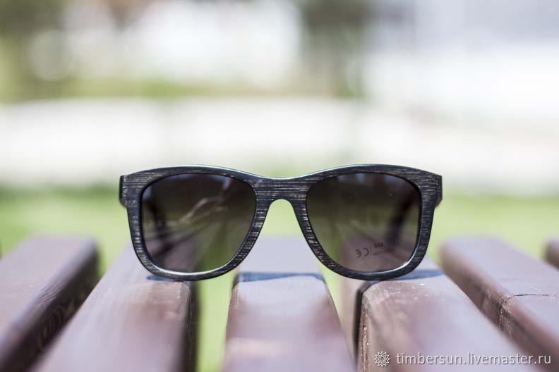Jungle Grey от Timbersun, Деревянные солнцезащитные очки ручной работы, Очки, Москва,  Фото №1