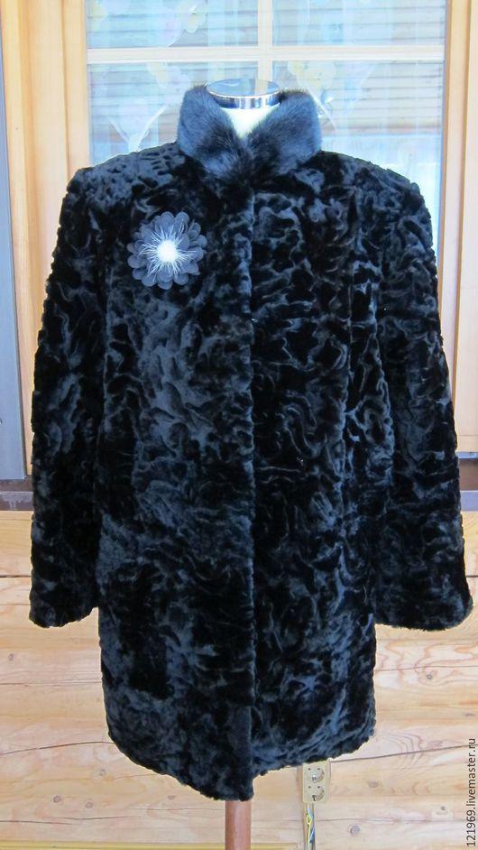 Верхняя одежда ручной работы. Ярмарка Мастеров - ручная работа. Купить 42-66! шубка С НОРКОЙ мутоновая, можно сшить в любом цвете. Handmade.