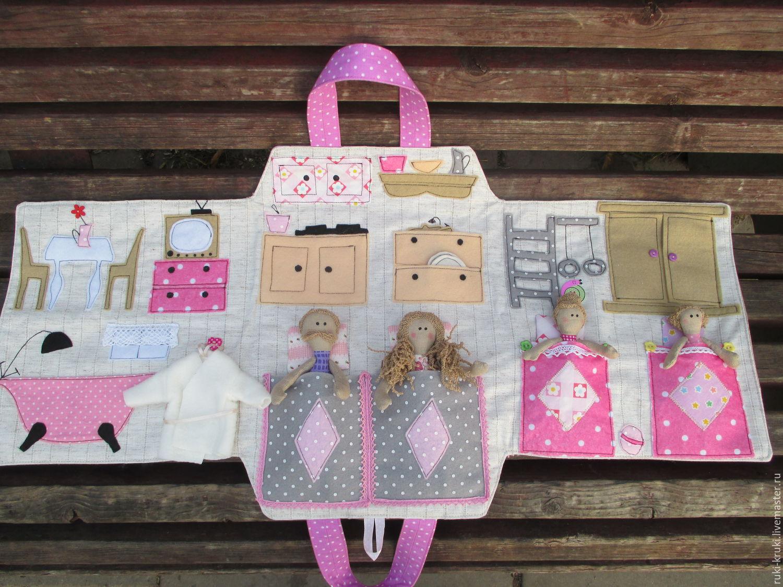 отделение кукольный домик сумка из ткани налогу добавленную