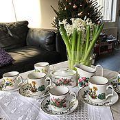 Винтаж handmade. Livemaster - original item Coffee set Villeroy&Boch Botanica, Luxembourg. Handmade.