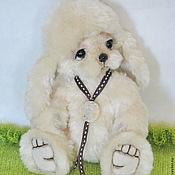 Куклы и игрушки ручной работы. Ярмарка Мастеров - ручная работа Тедди щенок Триша.. Handmade.