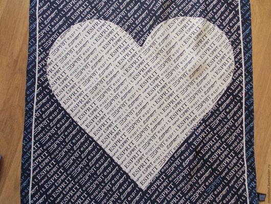 Винтажная одежда и аксессуары. Ярмарка Мастеров - ручная работа. Купить Шейный платок. ESPRIT Шелк 100%. Handmade. Платок шелковый