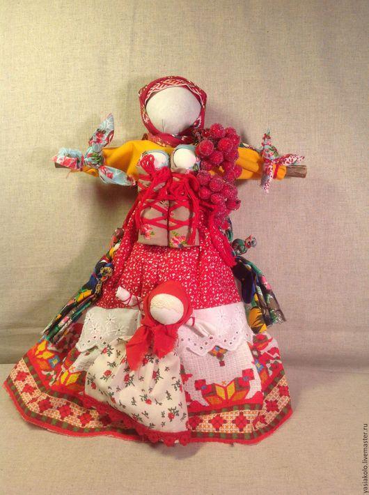 """Народные куклы ручной работы. Ярмарка Мастеров - ручная работа. Купить Кукла """" Рябинка"""". Handmade. Кукла ручной работы"""